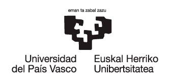 Universidad del Pais vasco Euskal Herriko Unibertsitatea